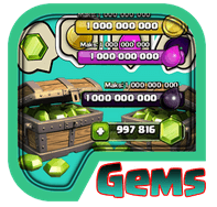 Unlimited Gems For COC