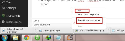 cara download vidio facebook tanpa software
